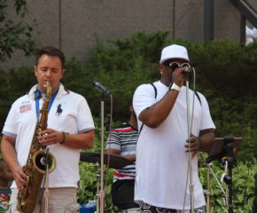 8/5 – The Dap Squad Live outdoor concert for the Hennepin County Court House