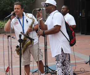 8/5/15 The Dap Squad Live outside The Hennepin County Government Center